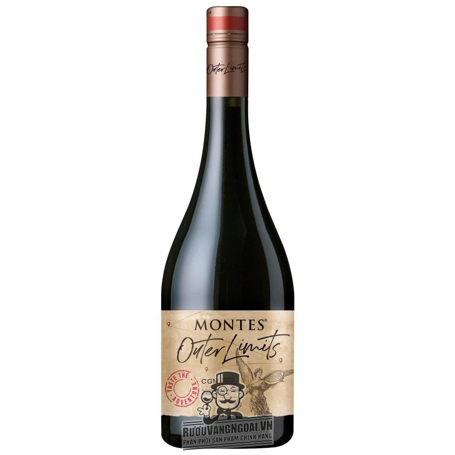 Vang Chile MONTES OUTER LIMITS RED WINE