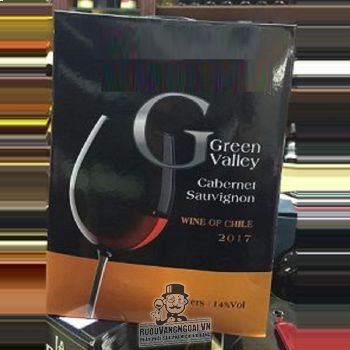 Vang Bịch Chile GREEN VALLEY Cabernet Sauvignon 3L